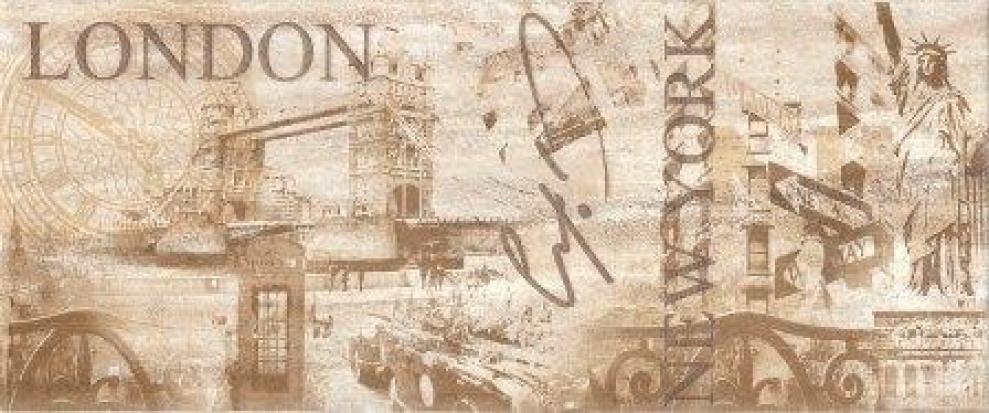 Quarz 25x60 Декор Quarz London 25x60