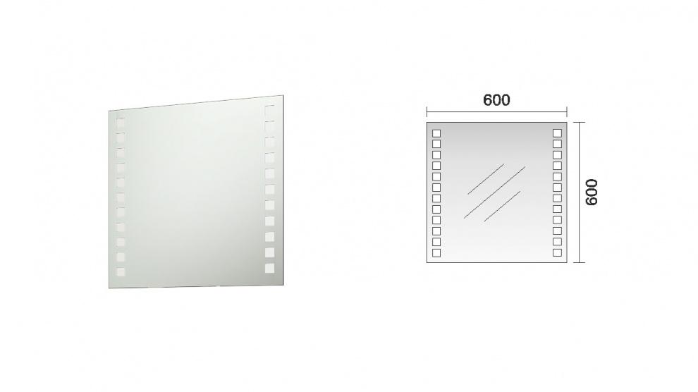 Комплект за баня Еклипс 2 Огледало за баня Еклипс 2
