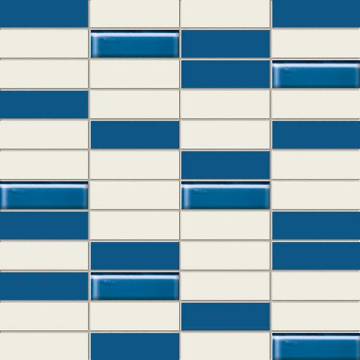 Joy Blue 22,3x44,8 Мозайка Joy Blue Glass 29,8x29,8