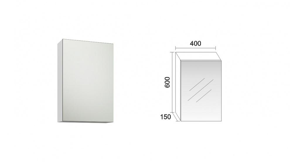 Комплект за баня Лара Горен шкаф за баня Лара