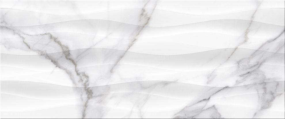Marble 25x60 Декор Marble Waves 25x60