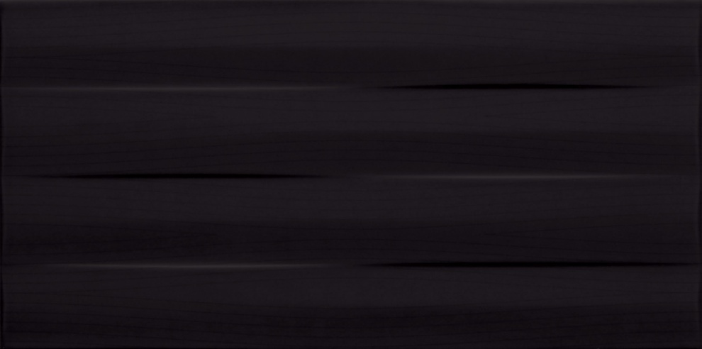 Maxima Black 22,3x44,8 Фаянс Maxima Black STR 22,3x44,8