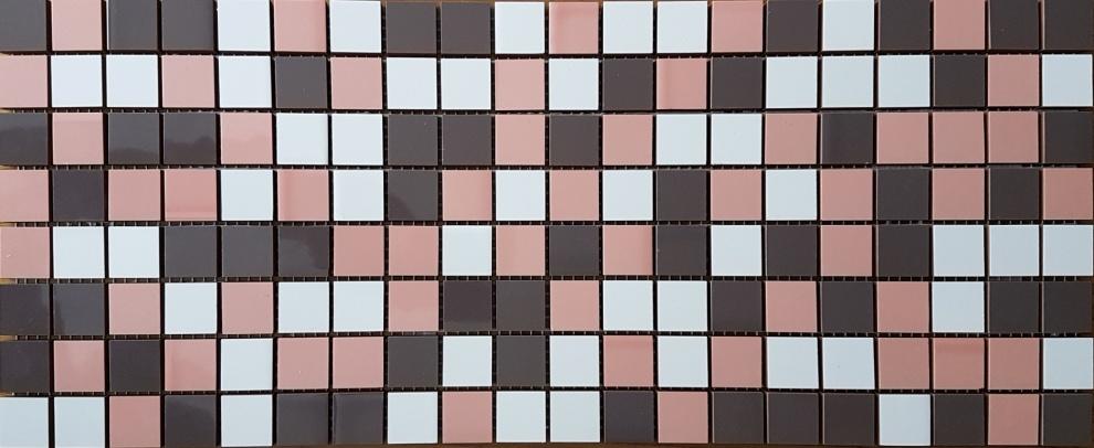 Mina Ballerine and Earl Grey 20x50 Мозайка Didie Pink Grey 20x50
