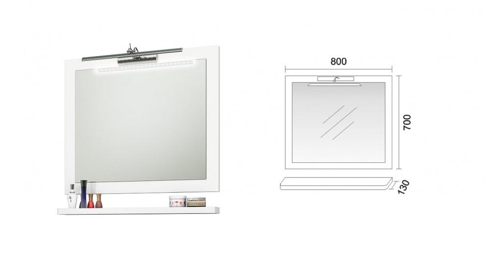 Комплект за баня Ню Лайн Огледало за баня Ню Лайн