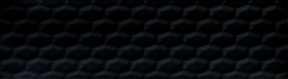 Odeon 25x90 Декор Odeon 3D Black 25x90