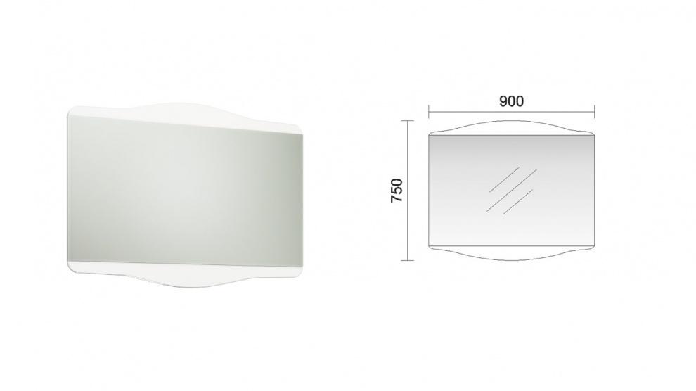 Комплект за баня Реал Огледало за баня Реал