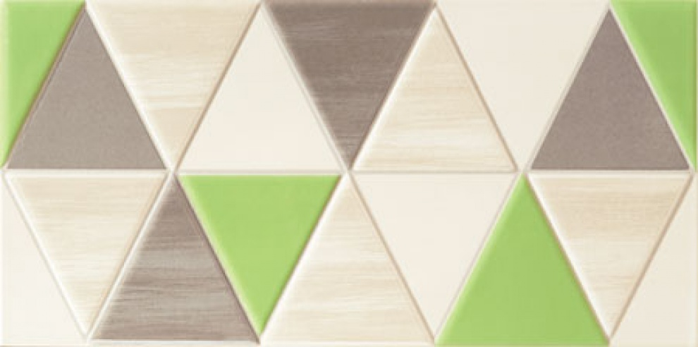 Tango Green 22,3x44,8 Декор Tango Modern 22,3x44,8