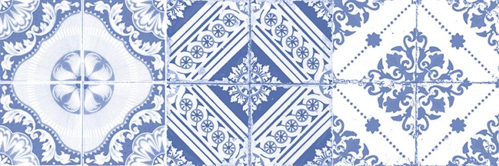 Vintage Classic 20x60 Декор Vintage Classic Azul 3 20x60